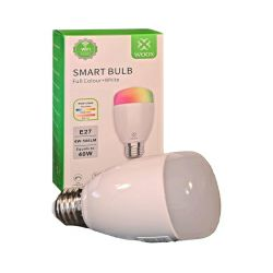 WOOX WiFi Smart LED RGB+CCT žarulja E27, 6W, 500lm, 2700K-6500K dimabilna, WooxHome app, glasovna kontrola - Alexa & Google Assistant (R5085)