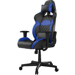 Gaming stolica GAMDIAS ZELUS E1 L BB, 2D, crno-plava 16111-03408-34010-G