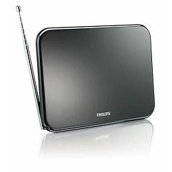 Antena PHILIPS SDV6224/12, DVB-T/T2 ready, unutarnja, crna SDV6224/12