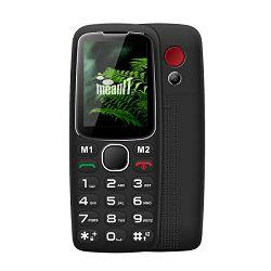 Mobitel MEANIT Senior 10, crni MGSM96