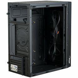 Case Micro ATX Akyga AK36BK 1x USB 3.0 black w/o PSU
