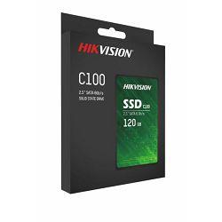 "Hikvision SSD C100 120GB 2,5"""
