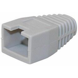 Maxlink Protective cap for RJ45 with cut, grey color