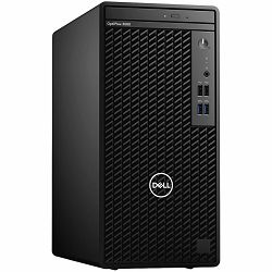 DELL OptiPlex 3080MT, w/260W, IntelCore i5-10500(12MB Cache, 6Cores, 12 Threads, 3.1 GHz to 4.5 GHz), 8GB(1 x 8 GB, DDR4, 2666 MHz), M.2 512 GB NVMe SSD, Intel integrated, DP, HDMI, Speaker, intrusion