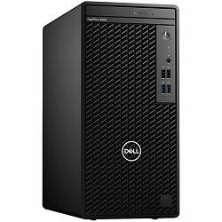 DELL OptiPlex 3080MT, w/260W, Intel Core i5-10500(12MB Cache, 6Cores, 12 Threads, 3.1 GHz to 4.5 GHz), 8GB(1 x 8 GB, DDR4, 2666 MHz), M.2 256 GB NVMe SSD, Intel integrated, DP, HDMI, Speaker, intrusio