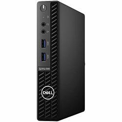 DELL OptiPlex 3080 MFF w/65W, Intel Core i5-10500T Acc.Use Only, 8GB (1x8GB) DDR4 non-ECC, M.2 256GB PCIe NVMe SSD, TPM, Speaker, DP, HDMI, RJ45, Mouse/Kb, Win10Pro, 3Y Basic Onsite