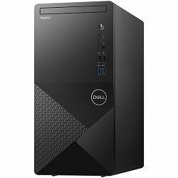 Dell Vostro Desktop 3888/260W, Core i5-10400(6-Core, 12M Cache, 2.9GHz to 4.3GHz), 8GB DDR4 2666MHz, 512GB M.2 PCIe NVMe, Intel UHD 630, DVD RW, WLAN + BT, HDMI/VGA, SD CR, Linux, 3Y
