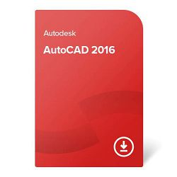 AutoCAD 2016 – trajno vlasništvo pojedinačna licenca (SLM)