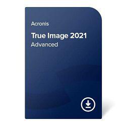 Acronis True Image 2021 Advanced – 1 godina Za 1 uređaj, elektronički certifikat