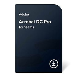 Adobe Acrobat DC Pro for teams (EN) – 1 godina digital certificate