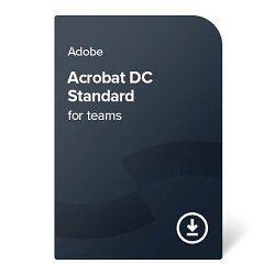 Adobe Acrobat DC Standard for teams (EN) – 1 godina digital certificate