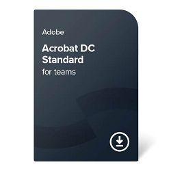 Adobe Acrobat DC Standard for teams (Multi-Language) – 1 godina digital certificate