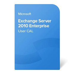 Exchange Server 2010 Enterprise User CAL elektronički certifikat