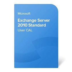 Exchange Server 2010 Standard User CAL elektronički certifikat