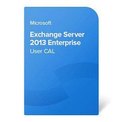 Exchange Server 2013 Enterprise User CAL elektronički certifikat