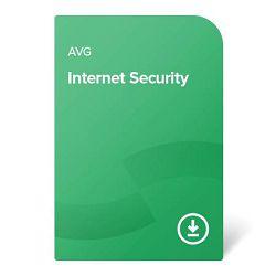 AVG Internet Security – 1 godina Za 1 uređaj, elektronički certifikat