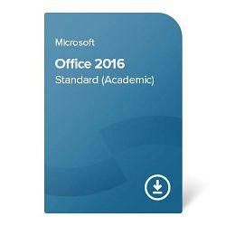 Office 2016 Standard (Academic) digital certificate