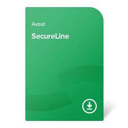Avast SecureLine VPN – 2 godine Za 5 uređaja, elektronički certifikat