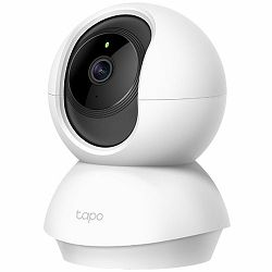 Pan/Tilt Home Security Wi-Fi Camera, Tapo C210, Night Vision,1080p Full HD,Micro SD card-Up to 256GB, H.264 Video,Two-way Audio, 360°/114° viewing angle, Cloud support, Android and iOS, Voice Control