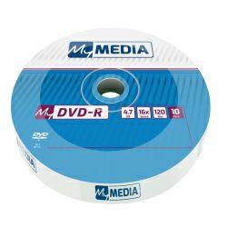 DVD-R MyMedia 4.7GB 16× Matt Silver, Wrap pakiranje 10 kom.