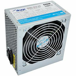 Power Supply AKYGA AK-B1-600 Basic 600W, DC 3.3/5/±12V, 1x120, Retail