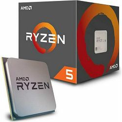 AMD CPU Desktop Ryzen 5 6C/12T 2600X (4.25GHz,19MB,95W,AM4) box with Wraith Spire cooler