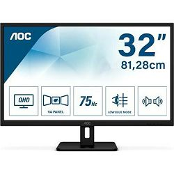 "AOC LED IPS 31,5"" Q32E2N, 2xHDMI, DP, zvu. 75Hz Q32E2N"