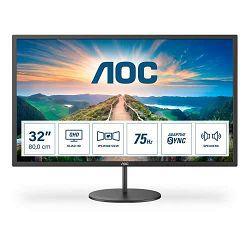 """AOC LED IPS 31,5"""" Q32V4, HDMI, DP, zvu. 75Hz Q32V4"""