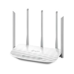 Router TP-Link AC1350 Dual-Band Wi-Fi Router, 802.11ac/a/b/g/n,  867Mbps at 5GHz + 450Mbps at 2.4GHz, 5 10/100M Ports, 5 fixed antennas, Beamforming, IPTV,  Cloud support, VPN Server,  LED Control , W