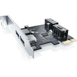 Asonic PCI-e USB 3.0, 2 port + 1 interni USB 3.0 N-EXP2P