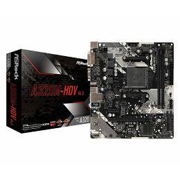 Asrock AMD AM4 Socket A320M chipset (mATX) MB