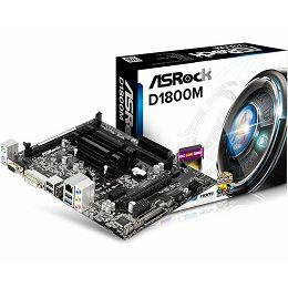 Asrock Micro ATX MB with Intel Dual Core J1800 CPU