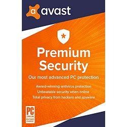 Avast Premium Security – 1 godina Za 5 uređaja, elektronički certifikat