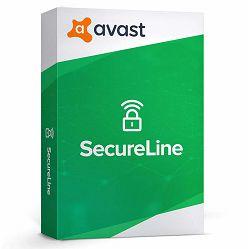 Avast SecureLine VPN – 1 godina 10 devices, digital certificate