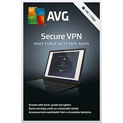 AVG Secure VPN 1 godina / neograničen broj uređaja, ESD