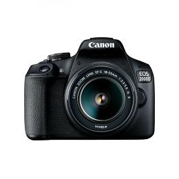 Canon EOS 2000D + 18-55mm IS + EF 50mm f1.8 STM 2728C030AA