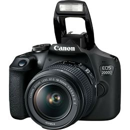 Canon EOS 2000D + 18-55mm IS 2728C028AA
