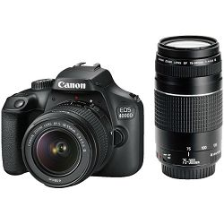 Canon EOS 4000D DZ 18-55mm + 75-300mm 3011C020AA