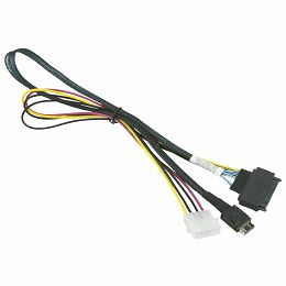 Supermicro 55cm OCuLink to PCIE SFF-8639 U.2 with Power Cable (CBL-SAST-0956)