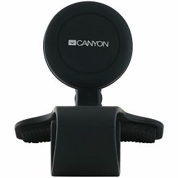Canyon Car Holder for Smartphones,magnetic suction function ,with 2 plates(rectangle/circle), black ,115*83*100mm 0.072kg