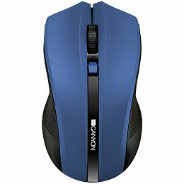 2.4Ghz wireless Optical Mouse with 4 buttons, DPI 800/1200/1600, blue
