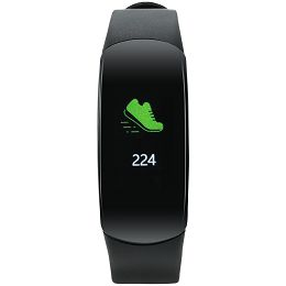Smart band, colorful 0.96inch TFT, IP68 waterproof, heart rate monitor, 90mAh, multisport mode, compatibility with iOS and android, Black, host: 46*20*13.5mm, strap: 240*15mm, 24g