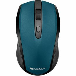 2 in 1 Wireless mouse, Optical 800/1200/1600 DPI, 6 button, 2 mode(BT/ 2.4GHz), green