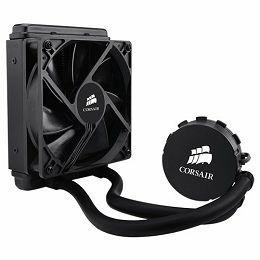 Corsair Hydro Series H55, Intel™ LGA 1150, 1155, 1156, 1366, and 2011 + AMD sockets AM2, AM3 and FM1, 120mm fan + 120x152mm radiator