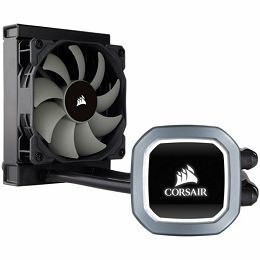 Corsair Hydro Series H60 (2018) 120mm Liquid CPU Cooler, all-in-one liquid CPU cooler with a 120mm radiator built for low-noise liquid CPU cooling, Intel 115x, Intel 1366, Intel 2011/2066, AMD AM2/AM3