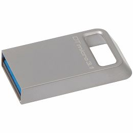 Kingston  32GB DTMicro USB 3.1/3.0 Type-A metal ultra-compact flash drive, EAN: 740617242829