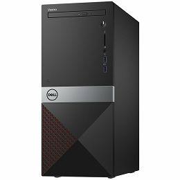 Dell Vostro 3670 with 290W PSU, Intel Core i3-8100 Processor (6MB Cache, up to 3.6 GHz), 4GB (1X4GB) DDR4 2400MHz, 1TB 7200RPM HDD, Integrated Intel UHD 630, DVDRW, 802.11bgn + Bluetooth 4.0, K+M, Win