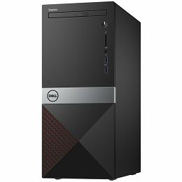 Dell Vostro 3670 with 290W PSU, Intel Core i5-8400 Processor (9MB Cache, up to 4.0 GHz), 8GB (1X8GB) DDR4 2666MHz, 256GB SSD, Integrated Intel UHD 630, DVDRW, 802.11bgn + Bluetooth 4.0, K+M, Linux, 4Y