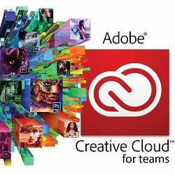 Elektronička licenca ADOBE, Creative Cloud All Apps for teams, paket aplikacija, godišnja pretplata
