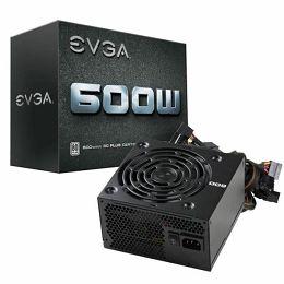 EVGA 600 W1, 80 WHITE, 600W